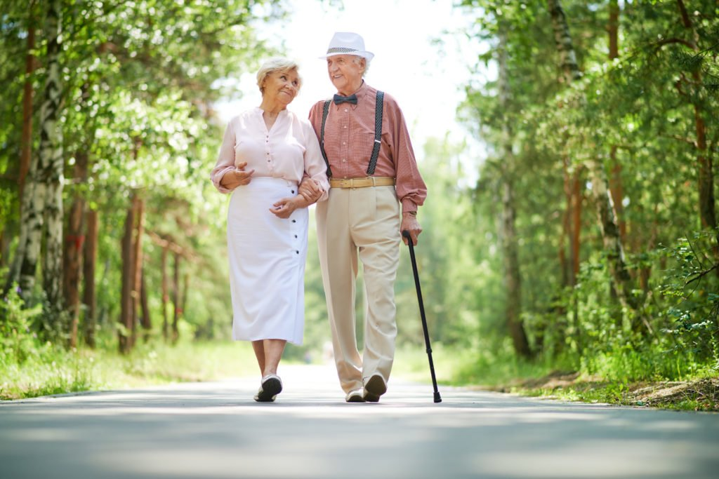 Seniors Walking