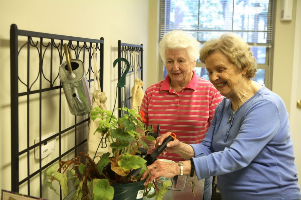 Senior Living Assisted Living Retirement Living Gardening