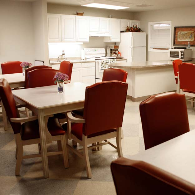 Senior Living activity room Oswego Place