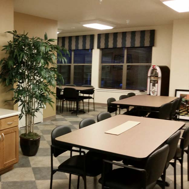 Assisted Living Activities Room