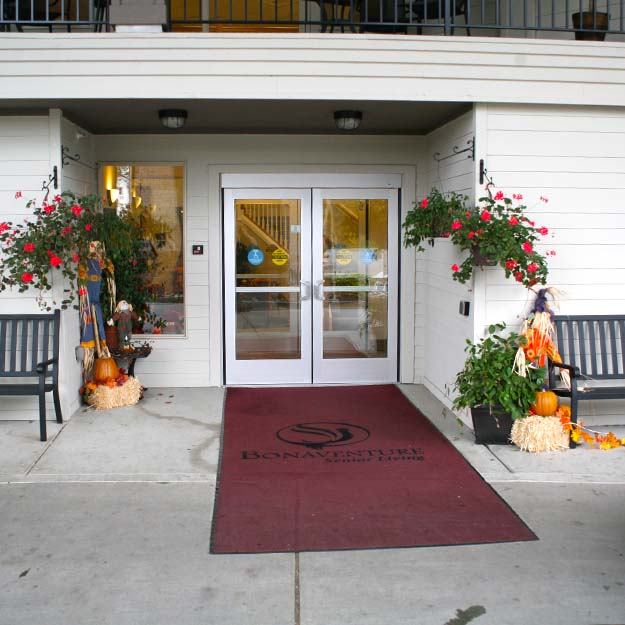 Assisted Living Facility Entrance Spring Creek
