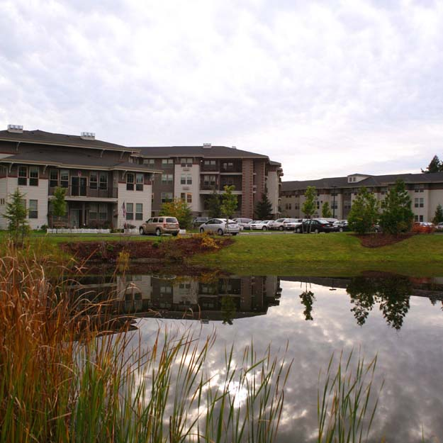 Spring Creek Retirement Home - Pond