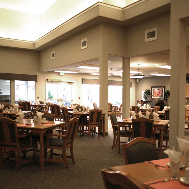 Retirement Home Dining Room