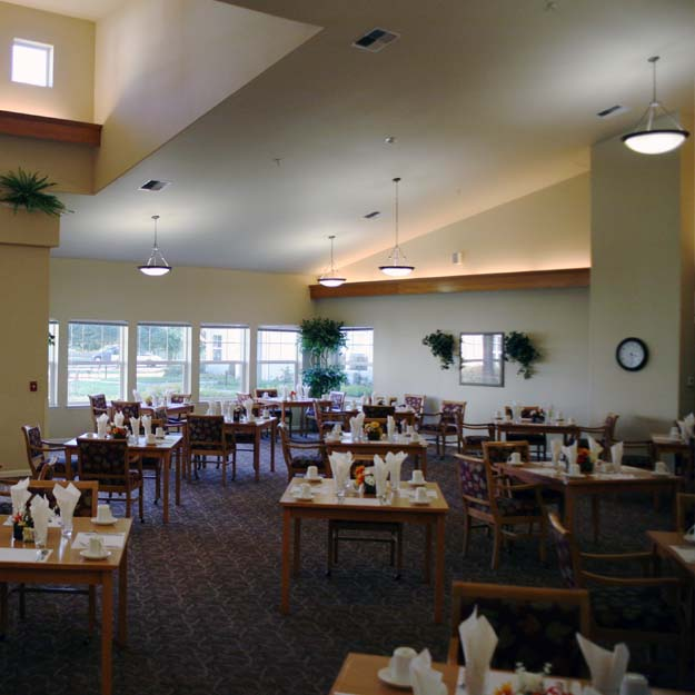Seniors Dining Room