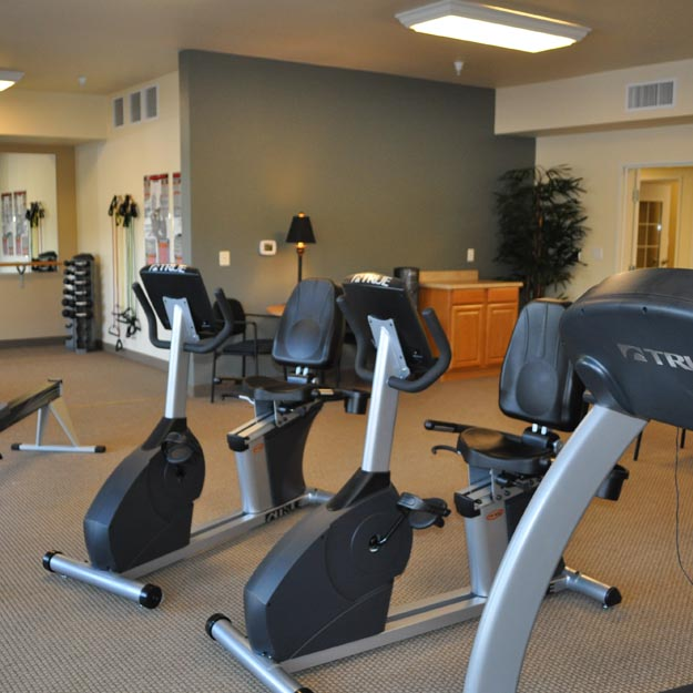 Retirement Home Fitness Center