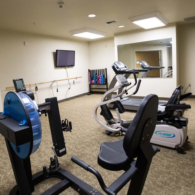 Independent Living fitness center Park Vista