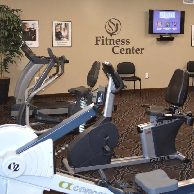 Independent Living fitness room Pueblo