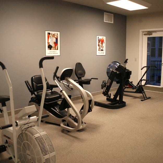 Independent Living Fitness Room
