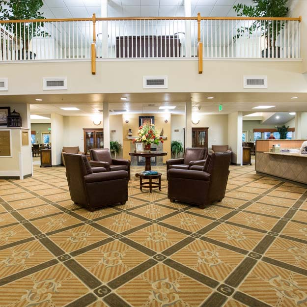 Independent Living lobby Park Vista