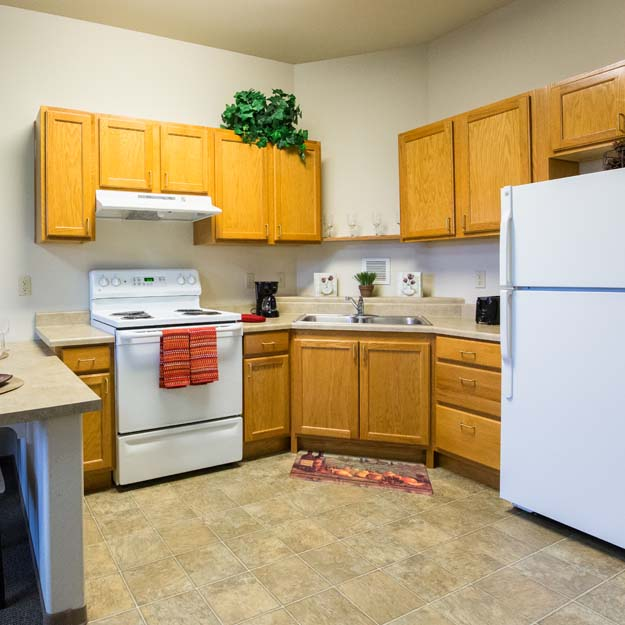 Independent Living kitchen Park Vista