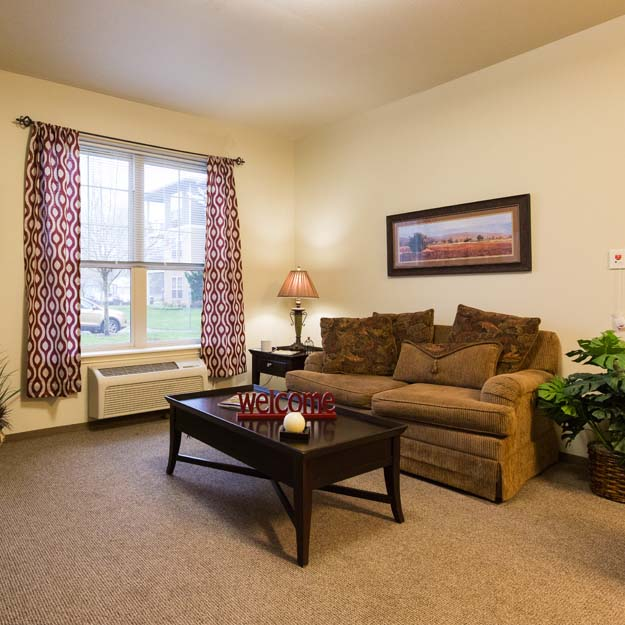 Independent Living living room Park Vista
