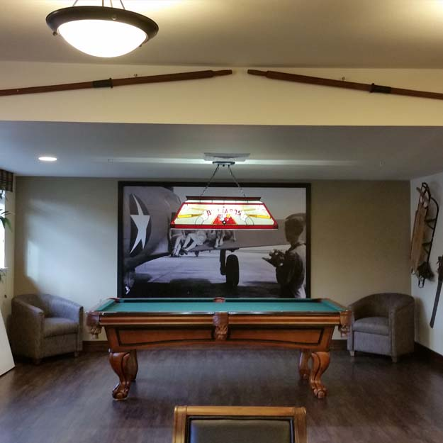 Seniors Pool Hall at Salmon Creek