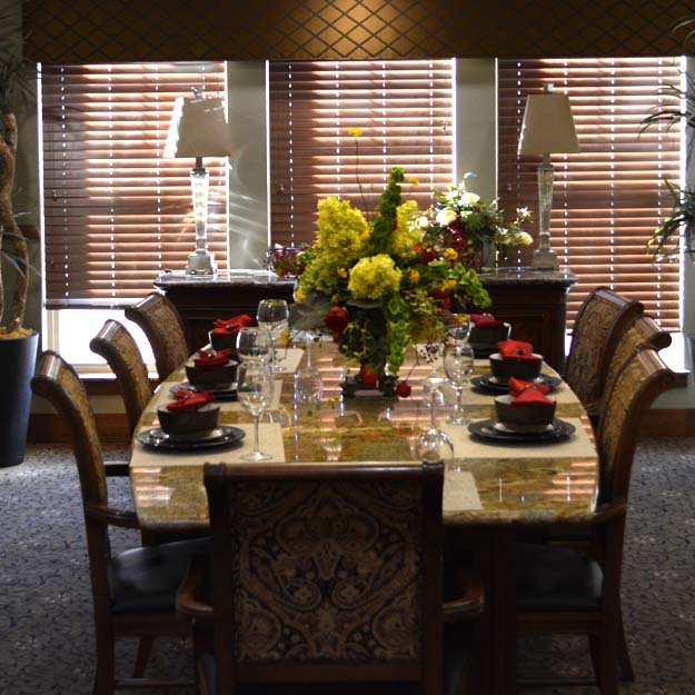 Seniors private dining Pueblo