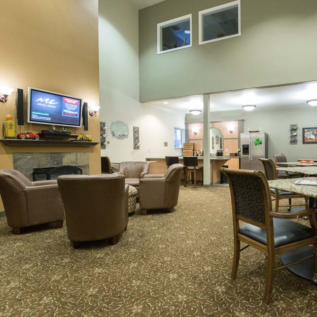 Independent Living sitting area Park Vista