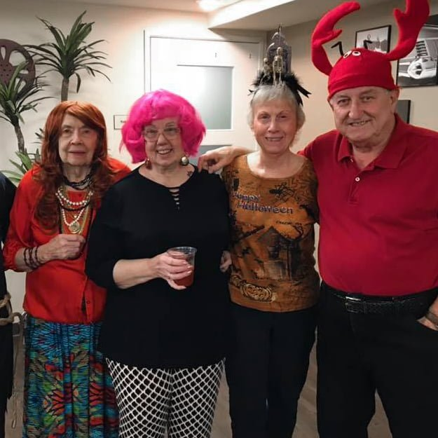 Happy halloween residents senior living - Gresham