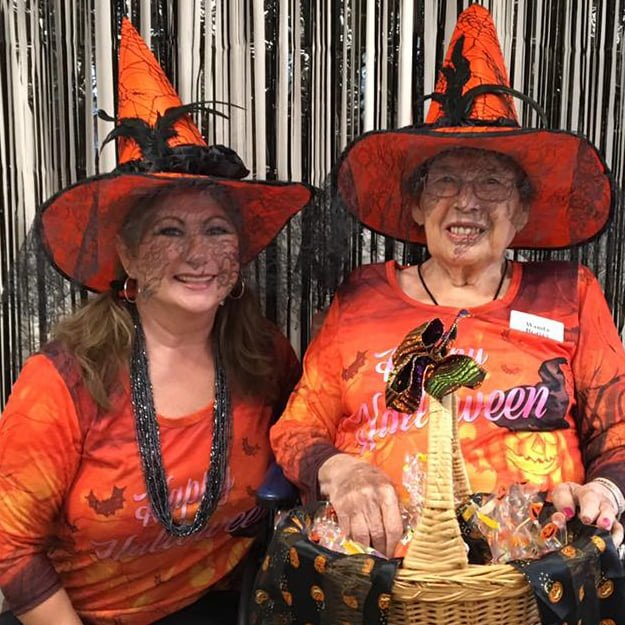 Happy Halloween from residents senior living - Keizer Station