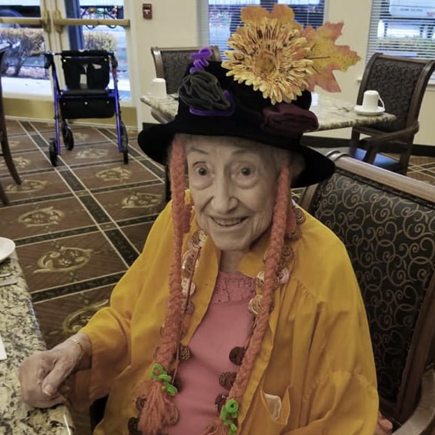 Senior Center Olympic Place by Bonaventure Halloween fun