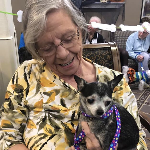 Assisted living residents with Pets - Cedar Ridge