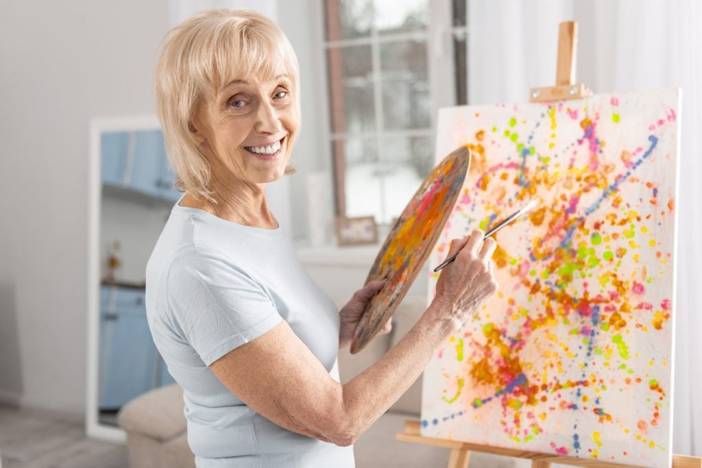 dementia art therapy
