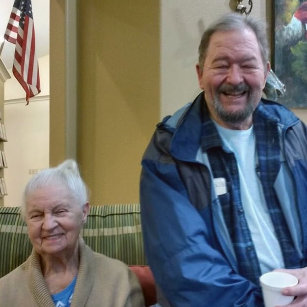 Gibson Creek by Bonaventure seniors enjoy some laughter in their assisted living community