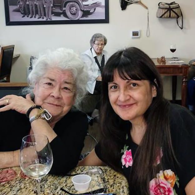 Mother and daughter in retirement living community in Pueblo Colorado