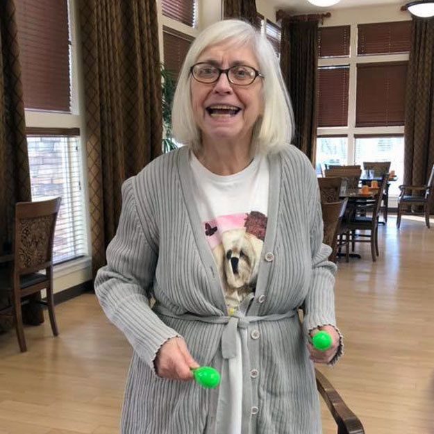 Retirement is great for those in memory care senior and exercising is healthy