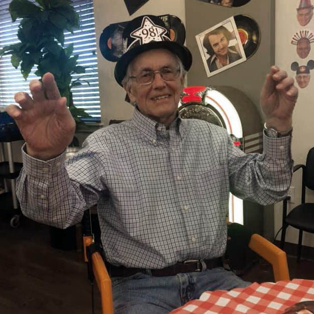 Assisted living community senior loves memory care and independent living