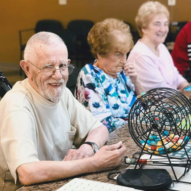 Memory care seniors love independent living and assisted community